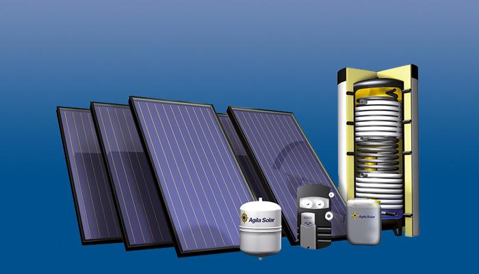 Agila Solar: Solarthermische Anlagen