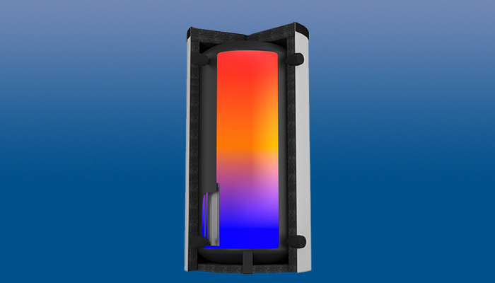 Agila Solar: Pufferspeicher